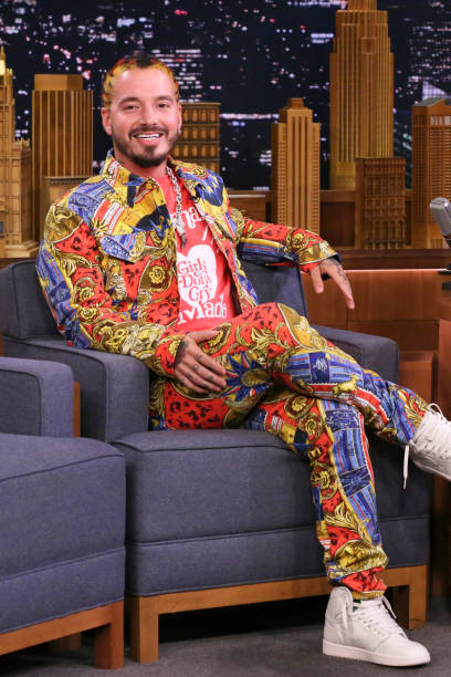 "NY: NBC's ""Tonight Show Starring Jimmy Fallon"" With Guests John Lithgow, J Balvin, SEAN PAUL & J BALVIN"