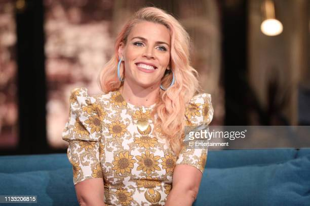 Episode 1074 -- Pictured: Host Busy Philipps on the set of Busy Tonight --