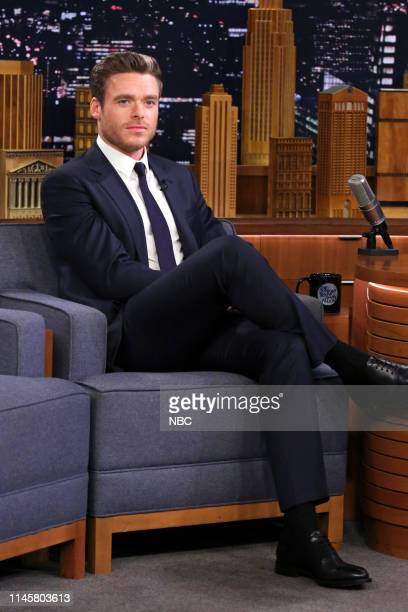 Episode 1075 -- Pictured: Actor Richard Madden during an interview on May 23, 2019 --