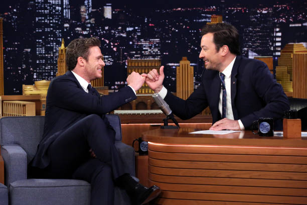 "NY: NBC's ""Tonight Show Starring Jimmy Fallon"" With Guests Harrison Ford, Richard Madden, BAZZI"