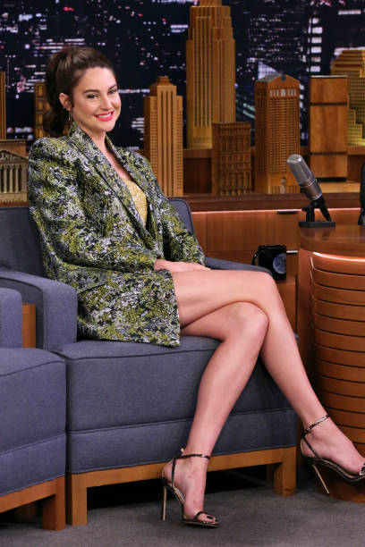 "NY: NBC's ""Tonight Show Starring Jimmy Fallon"" With Guests Shailene Woodley, Brian Tyree Henry, THE NATIONAL"