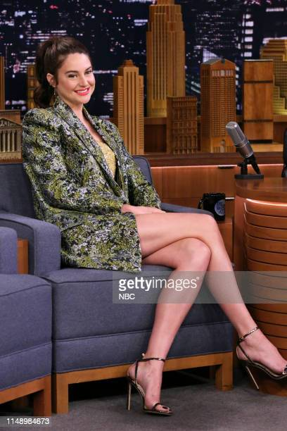 Episode 1077 -- Pictured: Actress Shailene Woodley during an interview on June 10, 2019 --