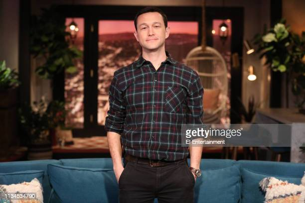 Guest Joseph GordonLevitt on the set of Busy Tonight
