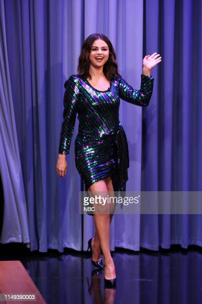 Singer Selena Gomez arrives to the show on June 11 2019