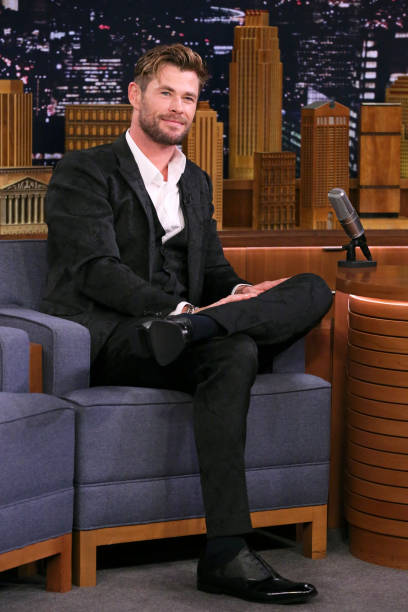 "NY: NBC's ""Tonight Show Starring Jimmy Fallon"" With Guests Chris Hemsworth, Jonas Brothers, JONAS BROTHERS"