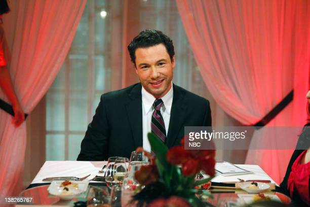 S DINNER PARTY Episode 108 Runway Ready PIctured Host Rocco DiSpirito