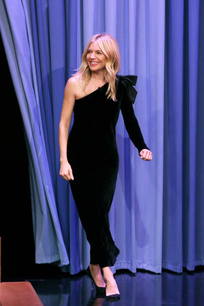 "NY: NBC's ""Tonight Show Starring Jimmy Fallon"" With Guests Sienna Miller, Josh Charles, Ryan Tedder, ONEREPUBLIC"