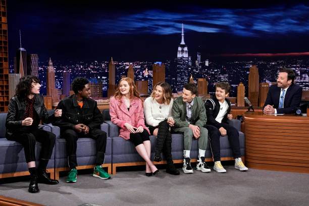 "NY: NBC's ""Tonight Show Starring Jimmy Fallon"" With Guests the cast of ""Stranger Things"", Ramy Youssef, Ivan Orkin"