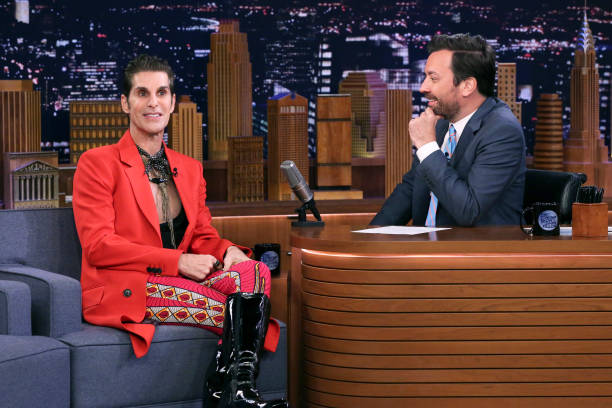 "NY: NBC's ""Tonight Show Starring Jimmy Fallon"" With Guests Keegan-Michael Key, Horatio Sanz, Perry Farrell, PERRY FARRELL"