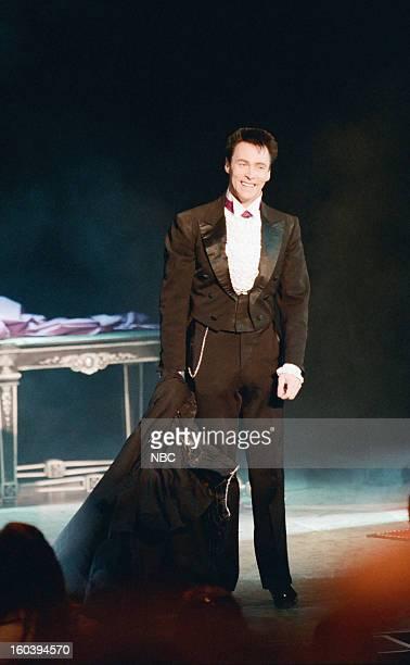 Magician Lance Burton performs on February 6 1997