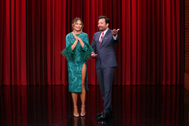 "NY: NBC's ""Tonight Show Starring Jimmy Fallon"" With Guests Chrissy Teigen, Bashir Salahuddin and Diallo Riddle, ALDOUS HARDING"