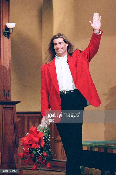 Model Fabio Lanzoni arrives on February 13 1997