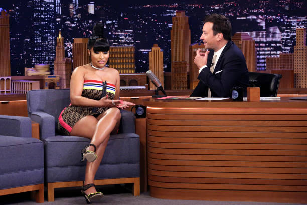 "NY: NBC's ""Tonight Show Starring Jimmy Fallon"" With Guests Nicki Minaj, Phoebe Robinson, JULIA MICHAELS"