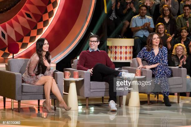 SHOW Episode 109 Celebrity judges Megan Fox Andy Samberg and Maya Rudolph are set to praise critique and gong unusually talented and unique...