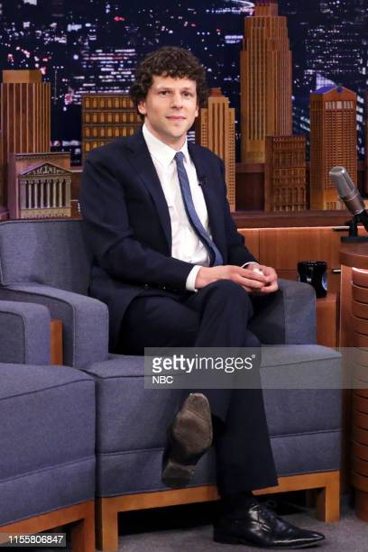 Actor Jesse Eisenberg during an interview on July 15 2019