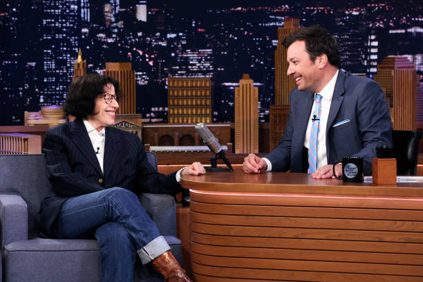 "NY: NBC's ""Tonight Show Starring Jimmy Fallon"" With Guests Jesse Eisenberg, Fran Lebowitz, DENZEL CURRY"