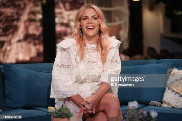 Episode 1090 -- Pictured: Host Busy Philipps on the set of Busy Tonight --
