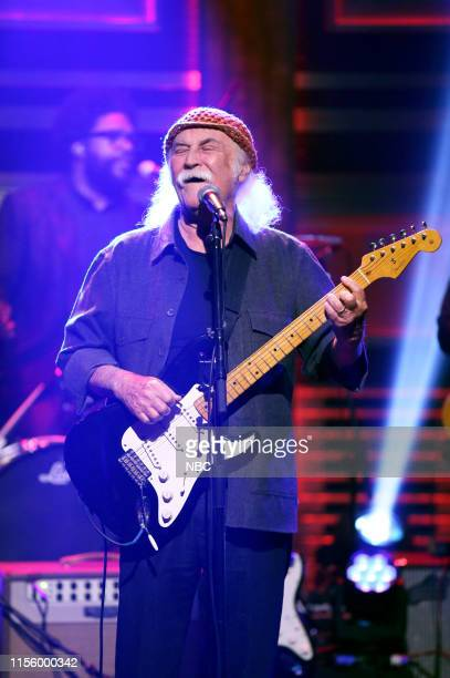 Musical guest David Crosby performs with The Roots on July 16 2019