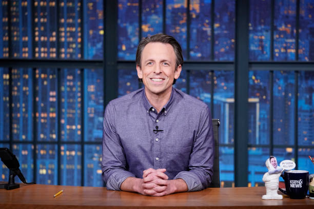 "NY: NBC'S ""Late Night with Seth Meyers"" With Guests James Spader, JULIA MICHAELS (Band Sit-In: Sarah Thawer)"