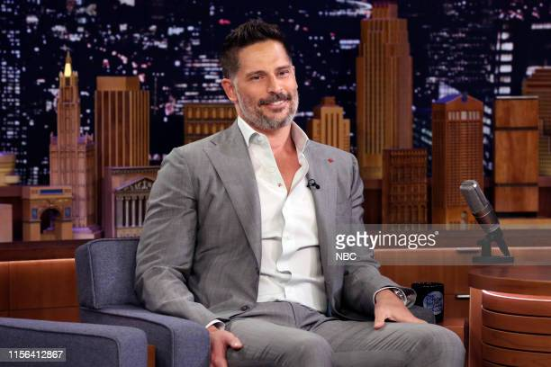 Episode 1093 -- Pictured: Actor Joe Manganiello during an interview on July 18, 2019 --