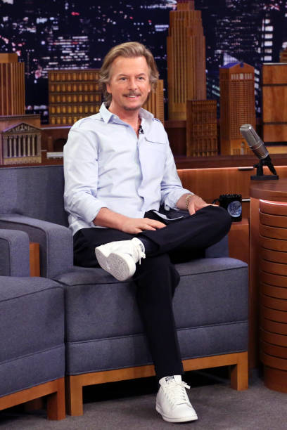 "NY: NBC's ""Tonight Show Starring Jimmy Fallon"" With Guests David Spade, Jeff Foxworthy, RED HEARSE"