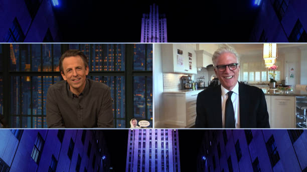"NY: NBC'S ""Late Night With Seth Meyers"" With Guests Ted Danson, Brooks Wheelan, Ann Patchett"