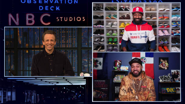 "NY: NBC'S ""Late Night with Seth Meyers"" With Guests Desus & Mero, Ryan Shazier"