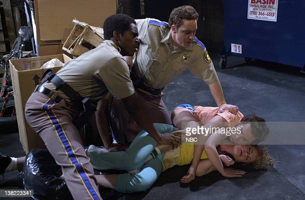 LIVE Episode 11 Air Date 1/19/2002 Pictured Dean Edwards Jeff Richards as police officers Chris Kattan as Gator Amy Poehler as white trash wife...