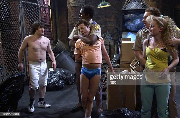 LIVE Episode 11 Air Date 1/19/2002 Pictured Jack Black as Jesse Dean Edwards as police officer Chris Kattan as Gator Jeff Richards as police officer...