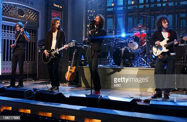 LIVE Episode 11 Aired Pictured Musical guests The Strokes perform on January 21 2006