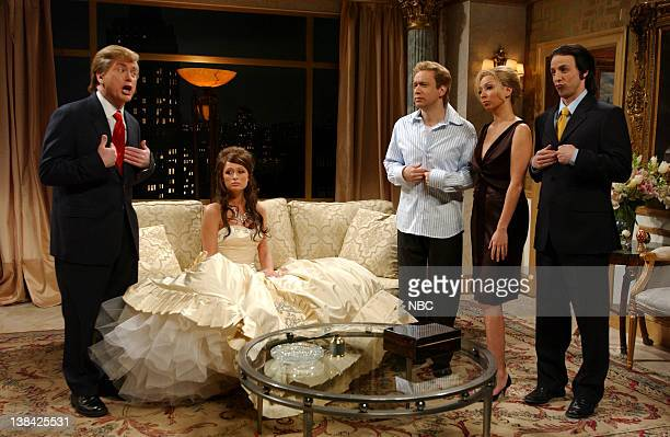 LIVE Episode 11 Aired Pictured Darrell Hammond as Donald Trump Paris Hilton as Melania Knauss Seth Meyers as Donald Trump jr Maya Rudolph as Ivanka...
