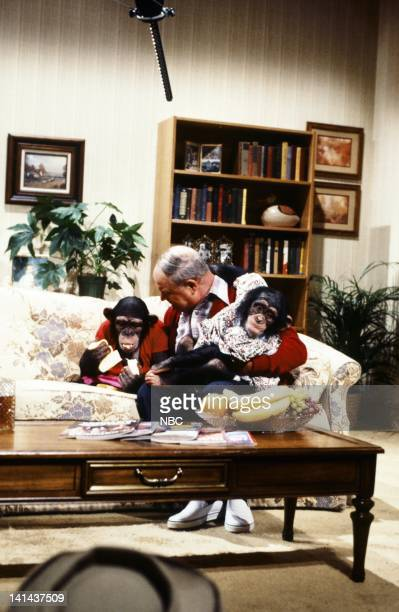 Don Rickles as Jerry during the 'I Married A Monkey' skit on January 28 1984 Photo by Reggie Lewis/NBC/NBCU Photo Bank