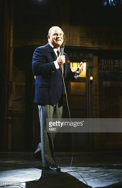 Don Rickles during the monologue on January 28 1984 Photo by Reggie Lewis/NBC/NBCU Photo Bank