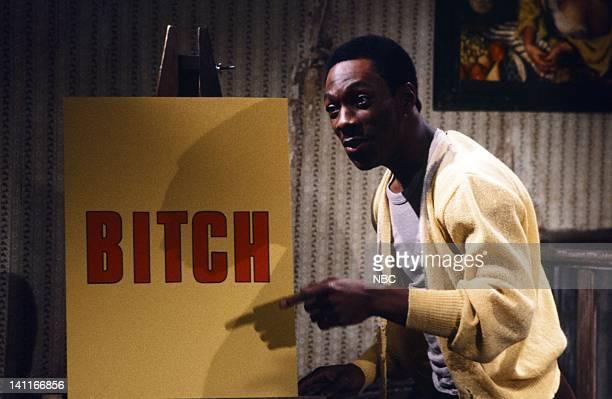 Eddie Murphy as Mr Robinson during the 'Mister Robinson's Neighborhood' skit on February 21 1981 Photo by Alan Singer/NBC/NBCU Photo Bank