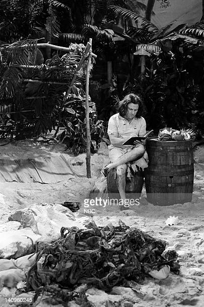 Harvey Keitel as castaway during the 'It's Pat' skit on January 16 1993 Photo by Al Levine/NBC/NBCU Photo Bank