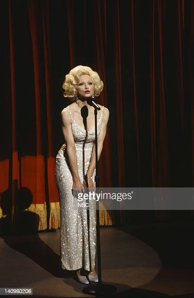 Madonna during the 'Inaugural Gala' skit on January 16 1993 Photo by Al Levine/NBC/NBCU Photo Bank