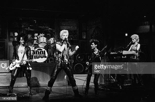 Steve Stevens and Billy Idol perfomr on January 28 1984 Photo by Reggie Lewis/NBC/NBCU Photo Bank