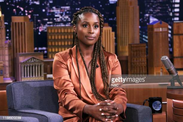 Actress Issa Rae during an interview on July 31 2019