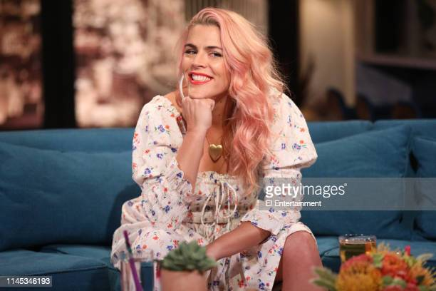 Episode 1100 -- Pictured: Host Busy Philipps on the set of Busy Tonight --
