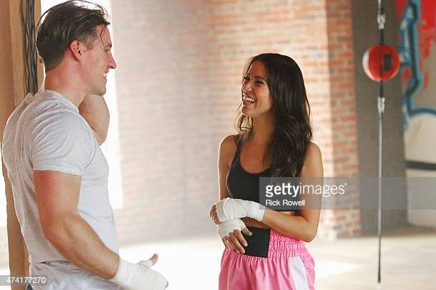 THE BACHELORETTE 'Episode 1102' Eight excited bachelors arrive at a boxing gym to meet Kaitlyn Little do they know what will hit them literally...