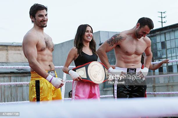 THE BACHELORETTE Episode 1102 Eight excited bachelors arrive at a boxing gym to meet Kaitlyn Little do they know what will hit them literally...