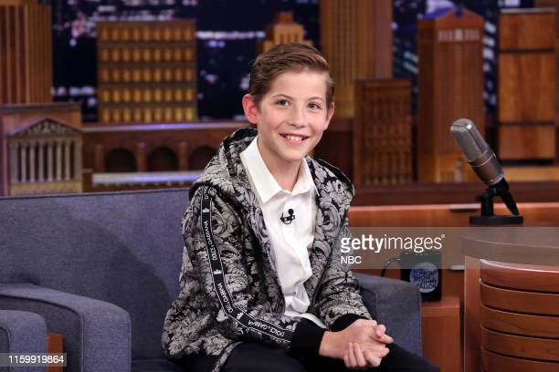 Episode 1102 -- Pictured: Actor Jacob Tremblay during an interview on August 5, 2019 --