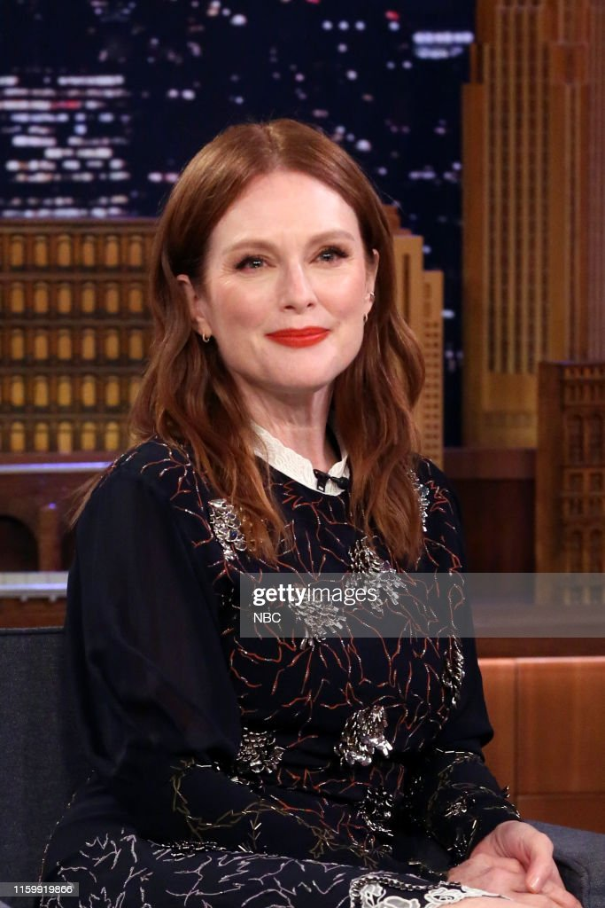 Actress Julianne Moore During An Interview On August 5 2019