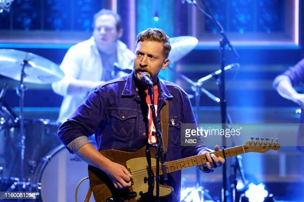 Musical guest Tyler Childers performs on August 6 2019
