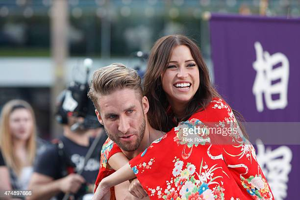 THE BACHELORETTE 'Episode 1103' Six men learn that they will be taught the ancient Japanese sport of sumo wrestling and Kaitlyn is there just in time...