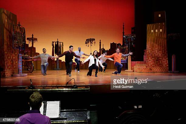THE BACHELORETTE Episode 1104 It's off to the New Amsterdam Theatre where Kaitlyn reveals that the five men with her will be auditioning for a role...