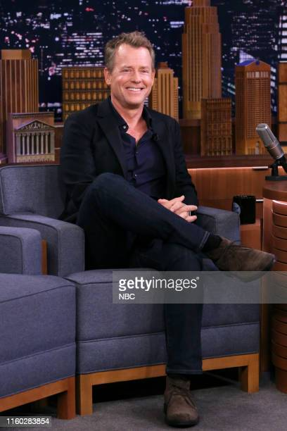 Episode 1104 -- Pictured: Actor Greg Kinnear during an interview on August 7, 2019 --