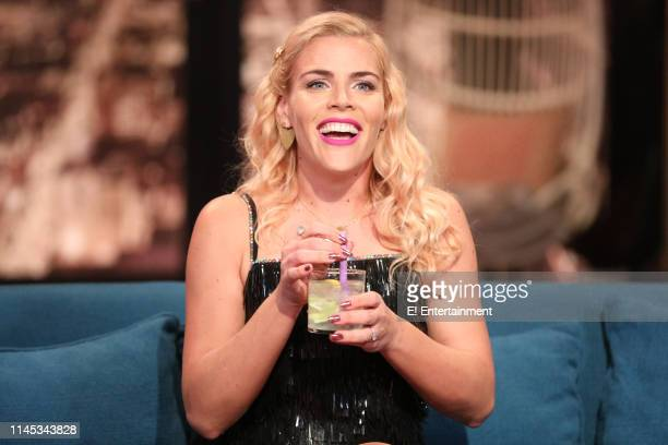 Episode 1104 -- Pictured: Host Busy Philipps on the set of Busy Tonight --