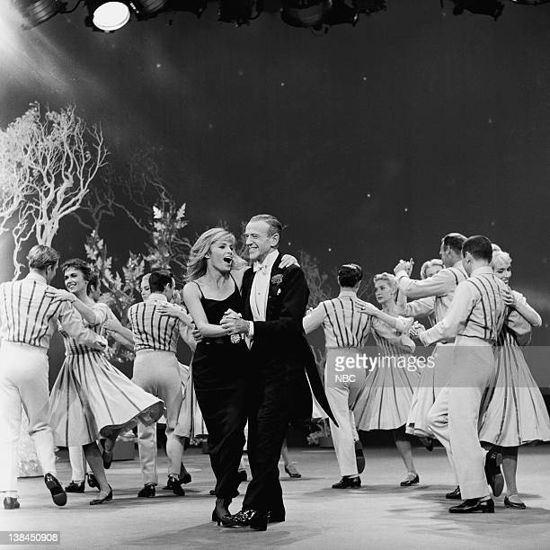 ASTAIRE Episode Pictured Barrie Chase Fred Astaire with the Hermes Pan Dancers