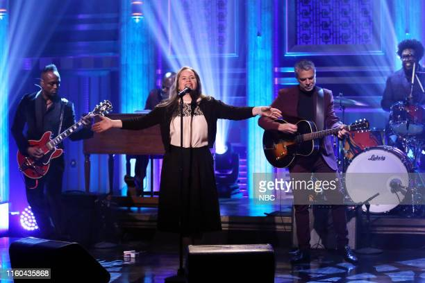 Musical guest Natalie Merchant performs with The Roots on August 8 2019